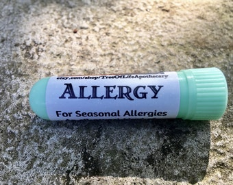 Allergy Inhaler, For Seasonal Allergies