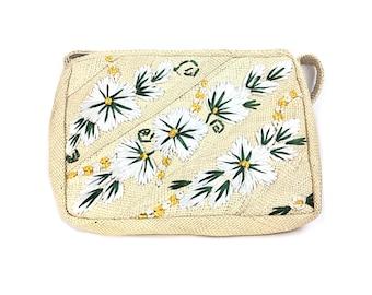 Straw purse, boho bag, straw bag, boho purse,  woven bag, woven purse, vintage purse, vintage bag, straw handbag