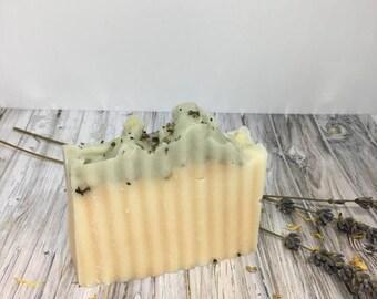 WHOLESALE ONLY Bee Free Lemongrass Spearmint Soap - Vegan Soap, Detox Soap, Dry Skin Soap, Acne Soap, Charcoal Soap, Handcrafted Soap