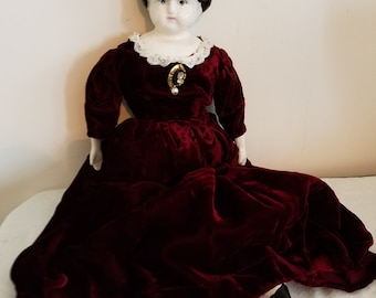 Dolly  Madison porcelain doll