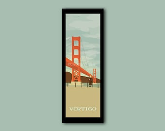 Vertigo framed limited edition 12x4 inches print