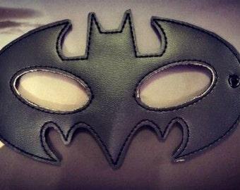 Child's Mask - Batman - Black Vinyl