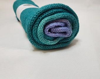 Hand dyed SW Merino / Nylon yarn, Sock weight, 4-ply, 100g, WINTER COMFORT, sparkly gradient, sock blank