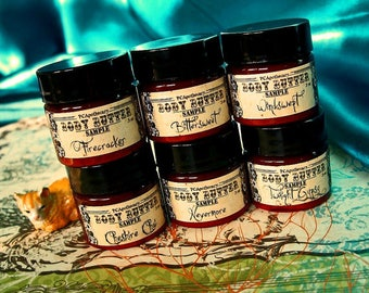 Six Pack Sample Minis (body butters)