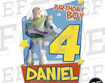 Toy Story Birthday Shirt - Toy Story Shirt Buzz and Woody, Jessy