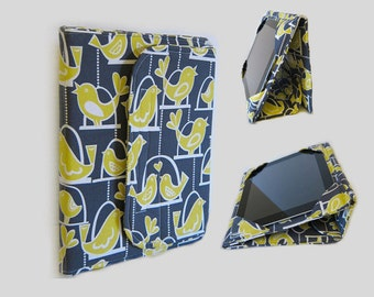 iPad Cover Hardcover, iPad Case, iPad Mini Cover, iPad Mini Case, iPad Air Case, iPad Pro Case, iPad 2, iPad 3, iPad 4 Yellow Bird