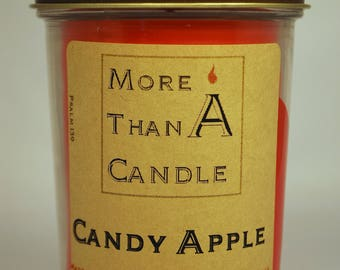 8 oz Candy Apple Soy Candle