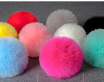 Keychain / bag faux fur balls