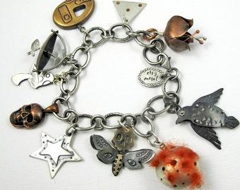 EtsyMetal Charm Swap 15 Bracelet