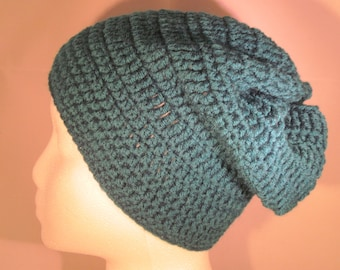 toddler/small child teal slouchy