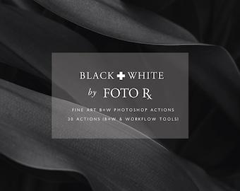 Fine Art Black & White Photoshop Actions