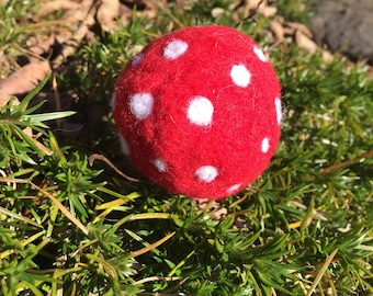Hand made Felted Waldorf Inspired Ball
