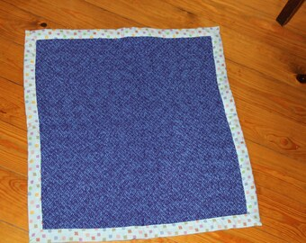 Handwoven, all cotton baby blanket