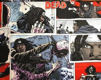 PREORDER || 066 Walking Dead Michonne Zombie Comic Fan Customizable Reversible Over the Collar Bandana Slider