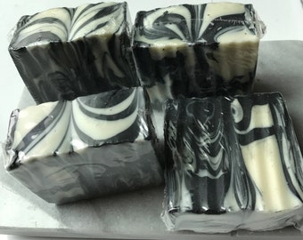 Luxury Activated Charcoal, Tea Tree Lemongrass Soap, Guest Soap