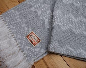 Genuine Peruvian Scarf - Alpaca Wool - 150x55cm - MADE in PERU - Super soft and warm.