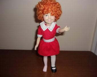 Annie - Little Orphan Annie doll from Knickerbocker