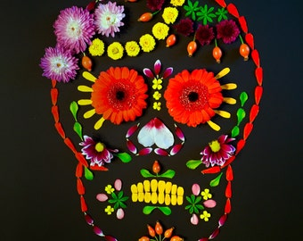 Fred of the Dead - Sugar Skull Candy Skull Giclee Print