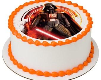 Star Wars Darth Vader Edible Cake Topper