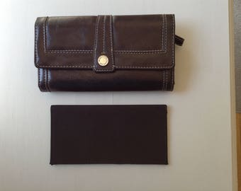 Black Wallet / Organizer By Nine West