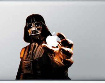 Sticker Macbook - Vader - Decal for MacBook Air Pro Retina - 11 12 13 15 or 17 inches - Skin for macbook easy to stick