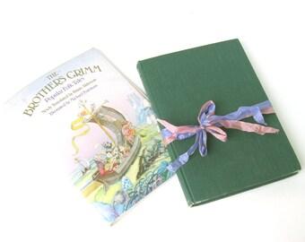 The Brothers Grimm Popular Folk Tales Illustrated by Michael Foreman, Vintage Fairy Tale Book, Fairy Tale Wedding, Fairytale Decor, FolkTale