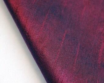 Maroon Art Silk Fabric By The Yard Silk Curtain Fabric Apparel Fabric Silk Dupioni Fabric Indian Silk Fabric By The Yard