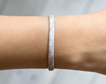 Beige Bracelet, Friendship Bracelet, Gift For Her, Gift For Him, Wrap Bracelet, Simple Bracelet, Minimalist Bracelet, Minimalist Jewelry