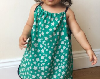 Children's dress and matching bloomers/ diaper cover