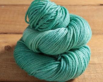 Worsted Weight Merino Yarn - Establish Mint - Woolsome