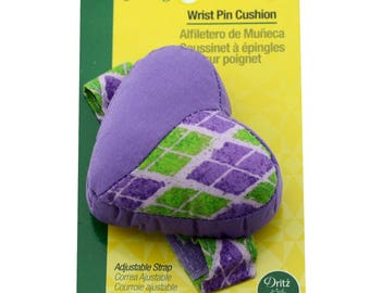 Dritz Wrist Pin Cushion #3002 - Sewing & Quilting Tool