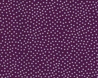 Patchwork fabric mini purple polka dot Miller