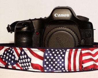 Flags Camera Strap-