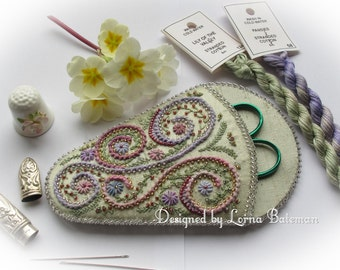 Swirls and Whirls Scissorkeeper - Pattern and Print Kit