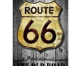 Old Road, Colorful Wall Art, Digital Art, Printable Poster, Digital Download, Printable Photography, Printable Art,  Photographic Collage