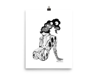 Divine Feminine Poster