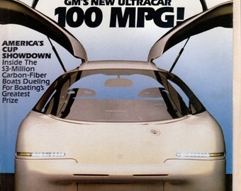 BTS Popular Mechanics Magazine April 1992