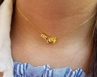 Custom Choker, Letter Choker, Name Choker Necklace, Customized Choker, Small Letter Necklace, Gold Choker Necklace, Personalized Choker