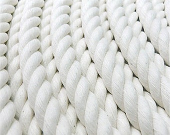 100% Cotton Rope, 3-strand