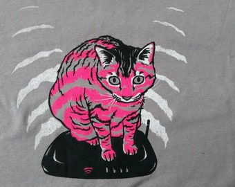 Cat on the Internet Screenprinted Tee