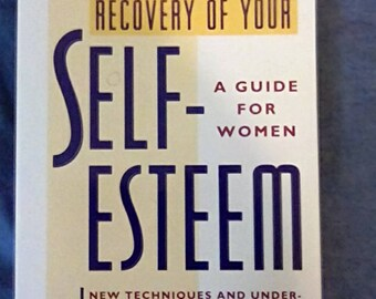Self help books etsy recovery of your self esteem a guide for women 1992 paperback self sciox Gallery