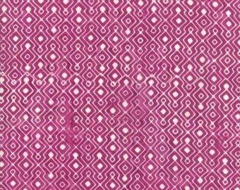 Longitude - Batik Magenta by Kate Spain for Moda, 1/2 yard, 27259 25
