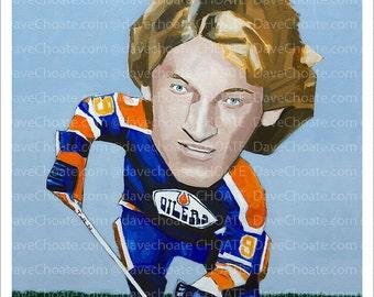 Wayne Gretzky, NHL HOFer. Edmonton Oilers
