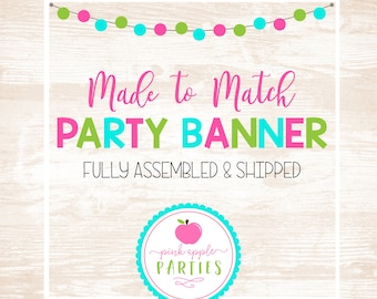 Made to Match - Party Banner