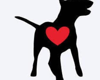 Bull Terrier, Bull Terrier Decal, Dog Decal, Decal, Cup Decal, Yeti Cup Decal, Car Decal, Laptop Decal