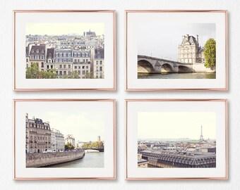Paris wall art, mothers day gift, Paris photography, gallery wall set, framed wall art, wall art canvas, large wall art, Europe, travel