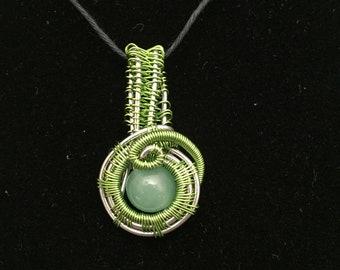 Green Aventurine Wire Wrap