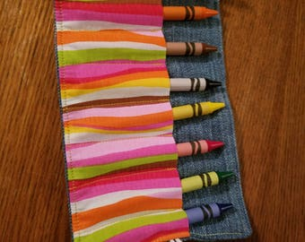 8 ct. Crayon Roll