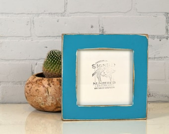 7x7 inch Square Picture Frame in 1.5 Standard Style and Color OF YOUR CHOICE - 7x7 Photo Frame - 7x7 Handmade Frame