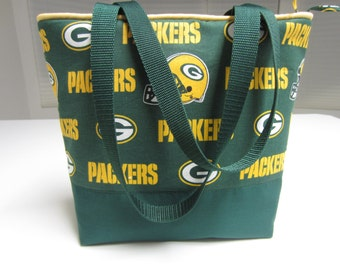 Green Bay Packers Shoulder Bag Sport Hobo NFL Totes Green Yellow Clutch Handbags